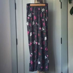 ASOS Wide Leg Pant in Spot Floral Print (US 6)